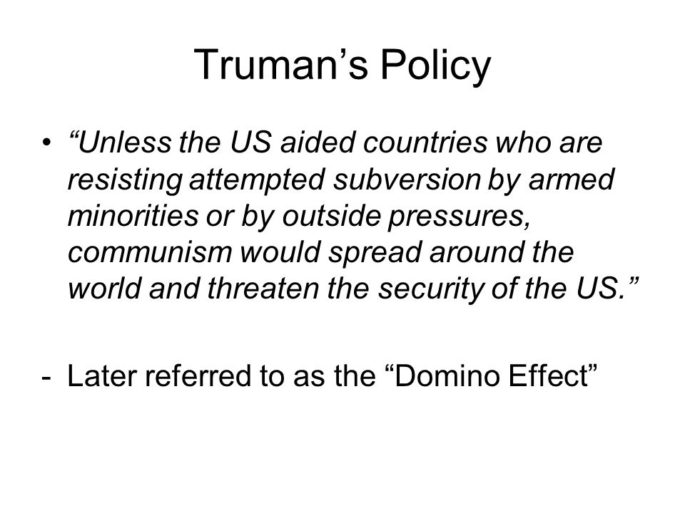 From Truman to Eisenhower Truman declines to run in 1952 Democrats on the defensive (c) 2003 Wadsworth Group All rights reserved
