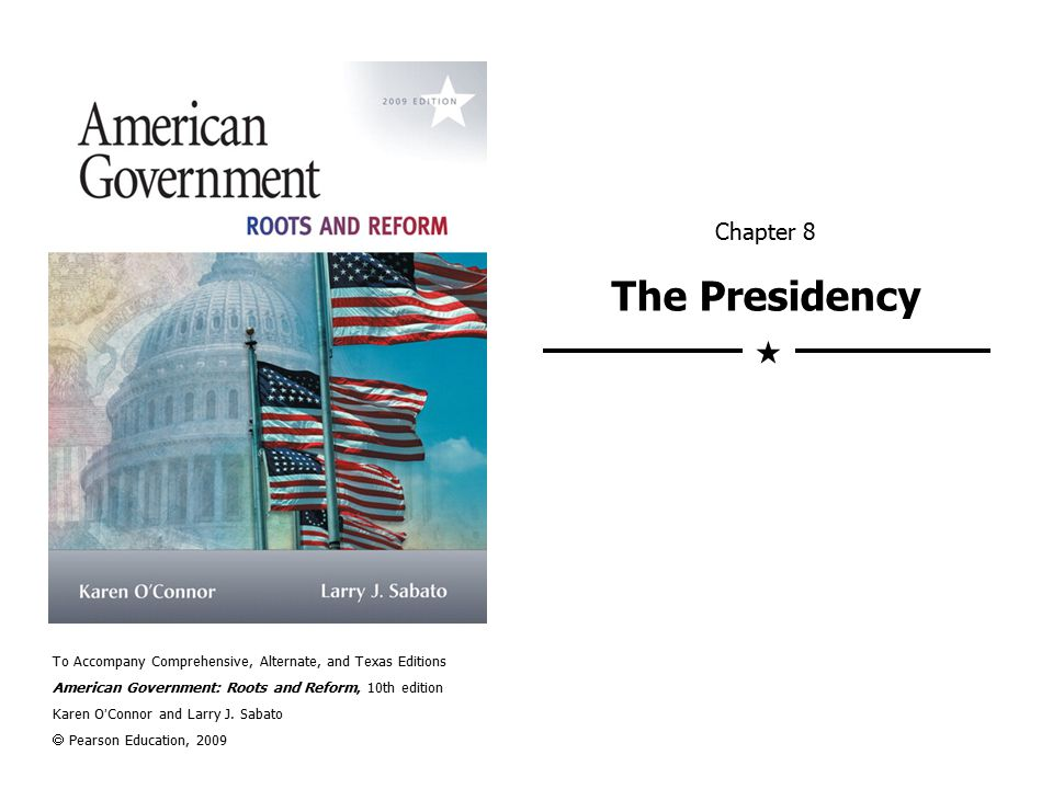 Presidential Establishment  Growing power of the vice president.