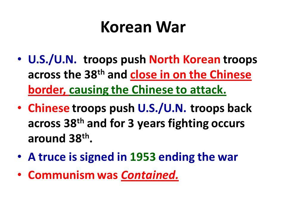 Korean War U.S./U.N.