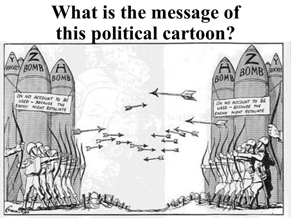 What is the message of this political cartoon?