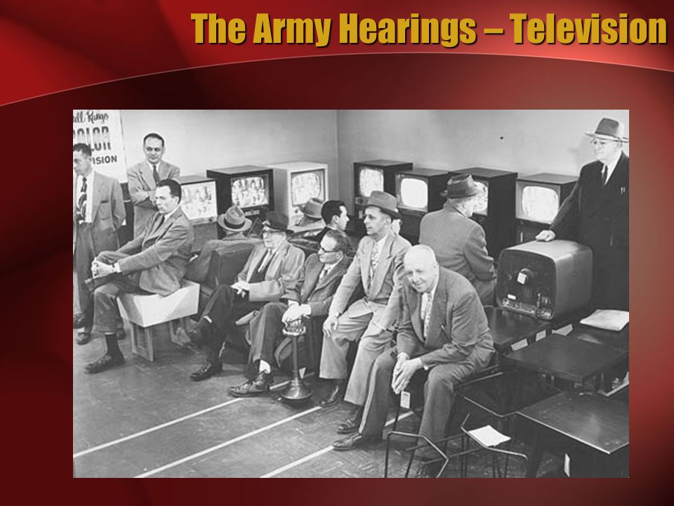 The Army Hearings – Television