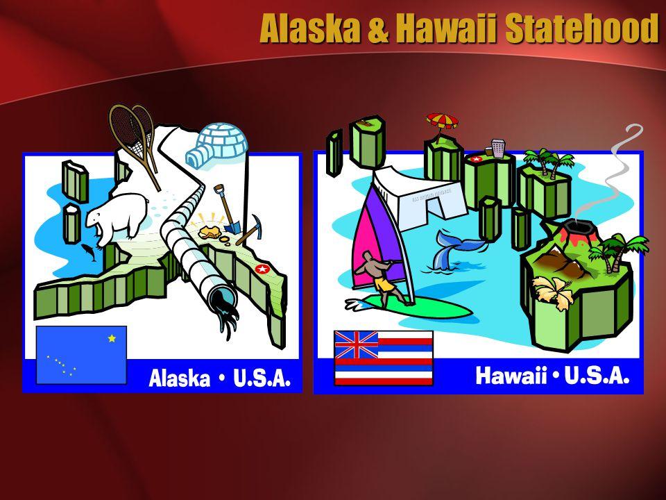 Alaska & Hawaii Statehood
