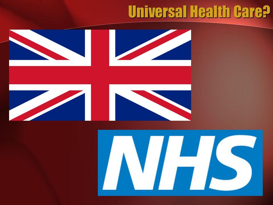 Universal Health Care?