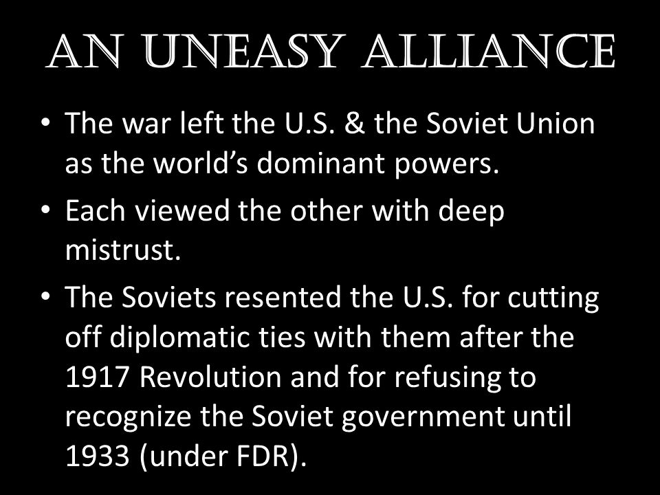 Truman doctrine He stated that the U.S.