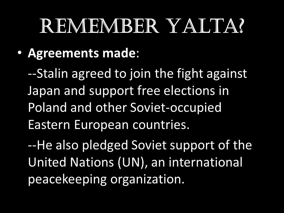 Continued Tensions U2 Incident – CIA began making secret high-altitude flights over Soviet territory.
