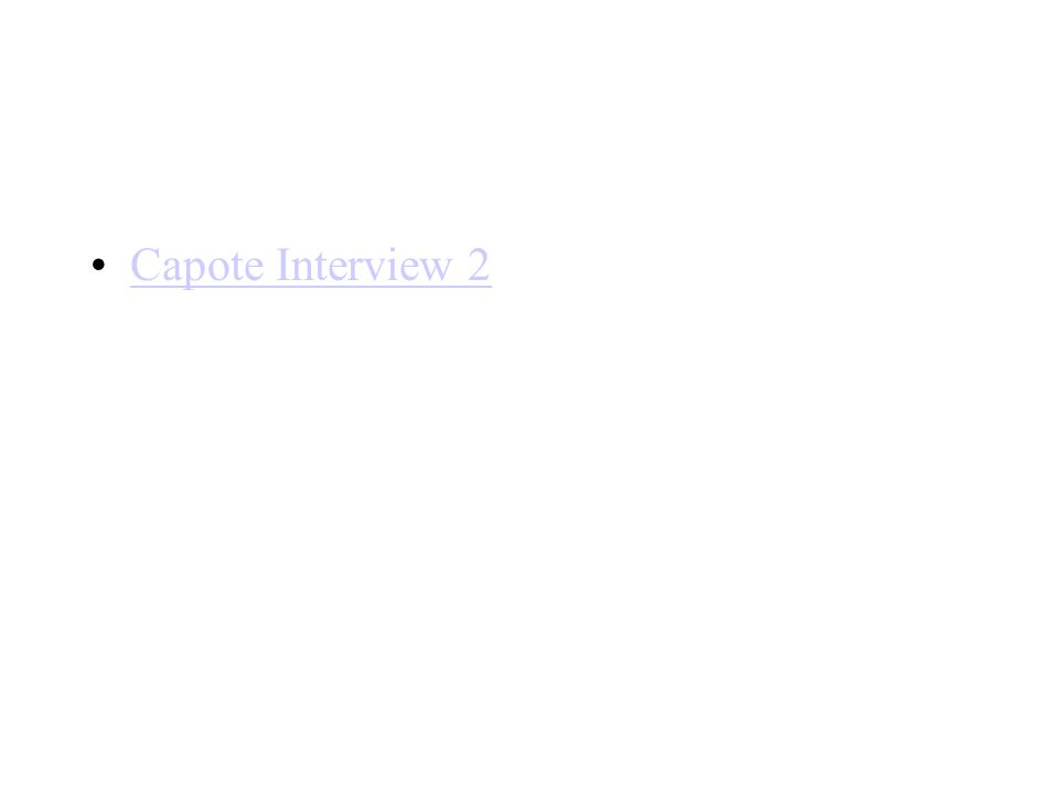 Capote Interview 2