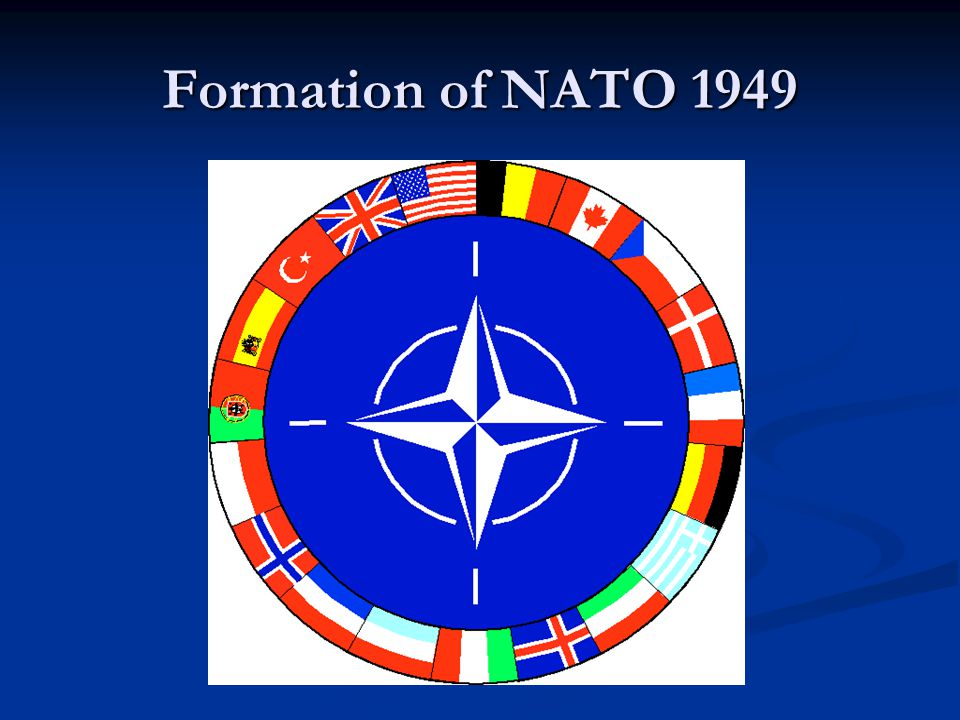 Formation of NATO 1949