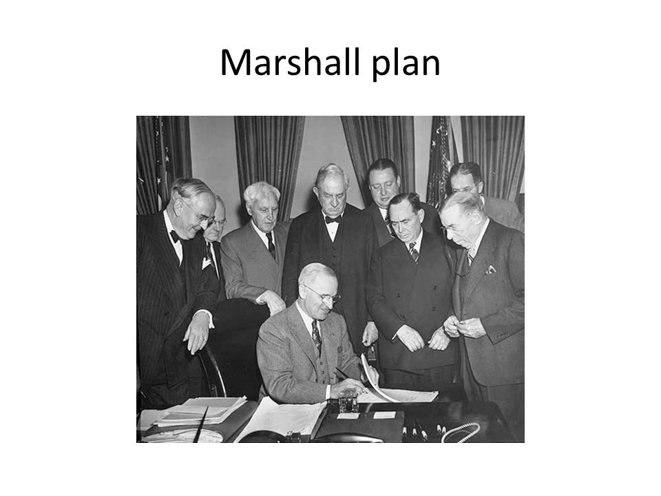 Motives and methods behind the Truman doctrine and Marshall plan Harry Truman and George Marshall believe by giving money and military aid to the war torn european countries it would contain them from expansionism and would keep them on Americas side and away from the soviet union but doing this was a big step towards brinkmanship because it raised the tensions between the soviet union and USA.