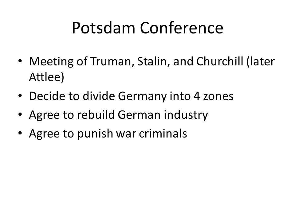 Nuremberg Trials German war crimes trial for Nazi leaders 12 sentenced to death, 7 to prison.