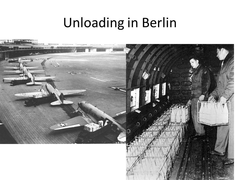 Unloading in Berlin