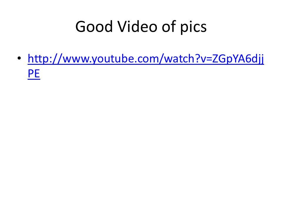 Good Video of pics http://www.youtube.com/watch?v=ZGpYA6djj PE http://www.youtube.com/watch?v=ZGpYA6djj PE