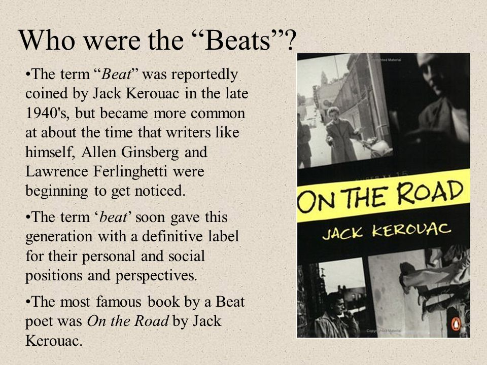 Who were the Beats .