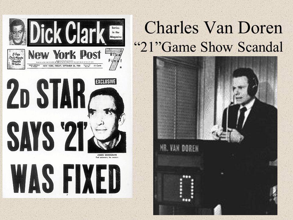 "Charles Van Doren ""21""Game Show Scandal"