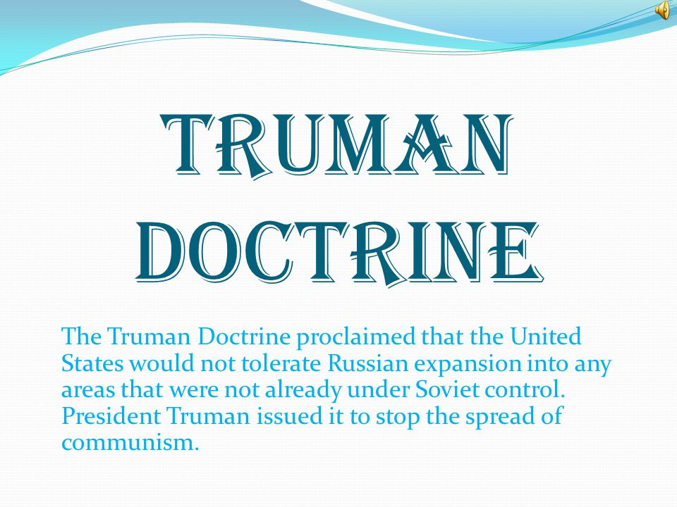ADVICE My advice to President Truman about signing the Marshall Plan would have been that he should sign it but Marshall shouldn't over push it becaus