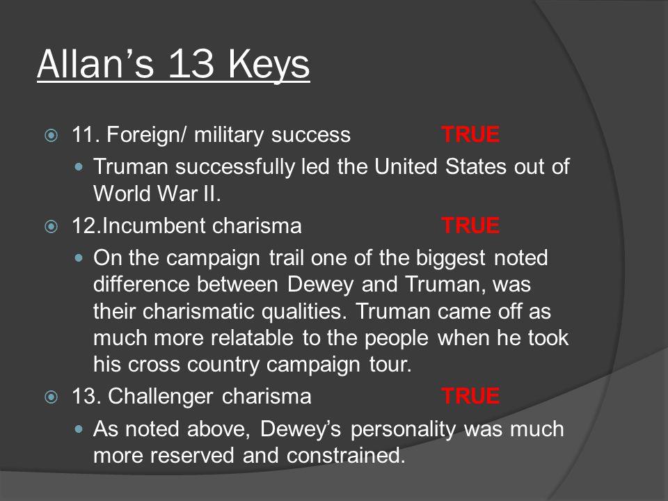 Allan's 13 Keys  11.