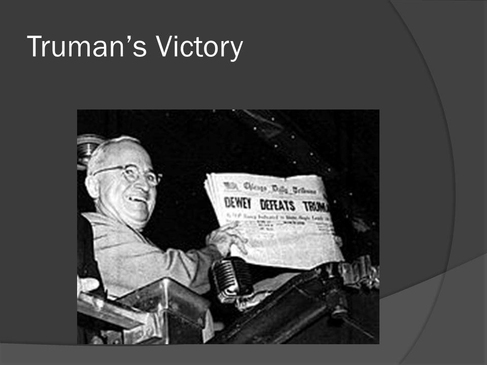 Truman's Victory