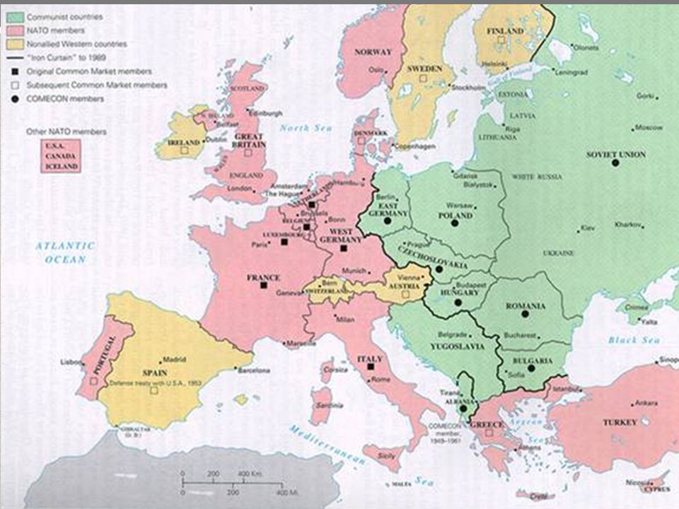 Containment in Europe The Marshall Plan Greece and Turkey were not the only countries that needed aid.