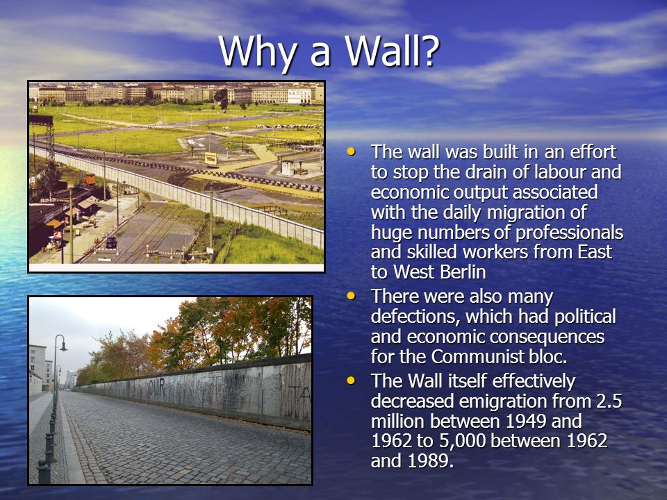 Why a Wall.