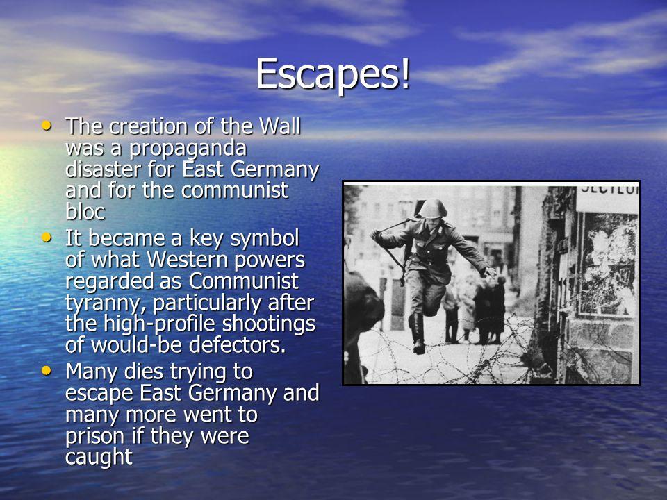 Escapes.