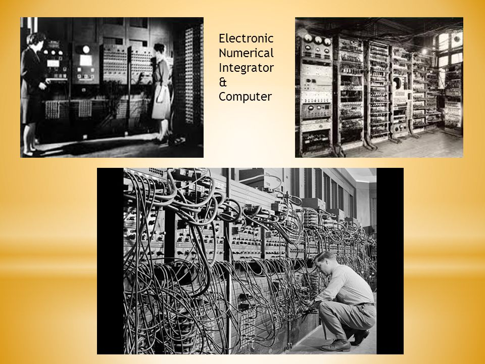 Electronic Numerical Integrator & Computer