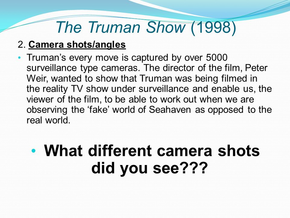 The Truman Show (1998) 2.