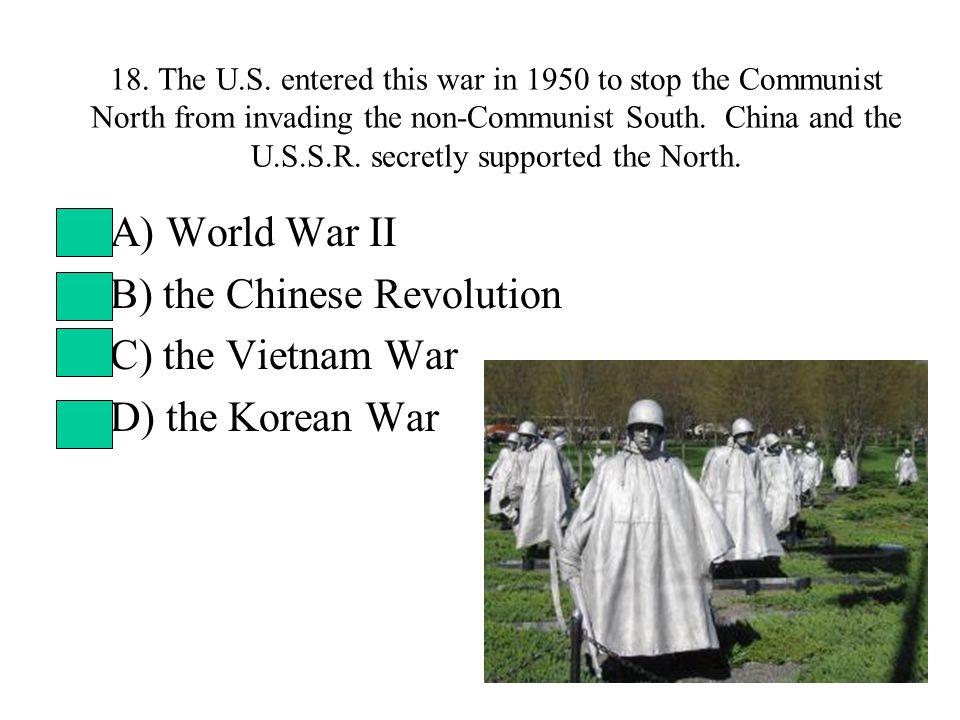 18. The U.S.