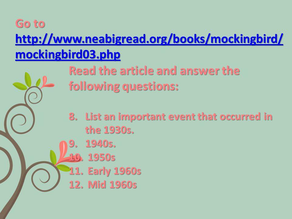 13.How many novels did Harper Lee write during her lifetime.