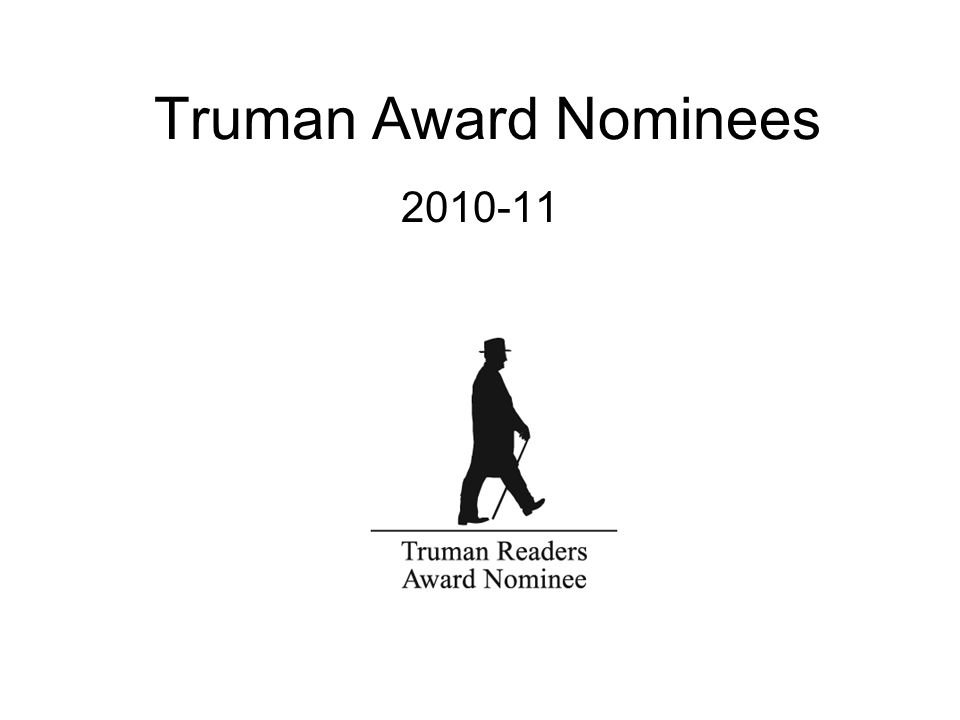Truman Award Nominees 2010-11