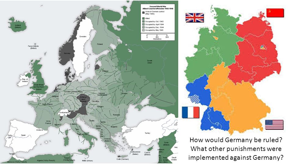 How would Germany be ruled? What other punishments were implemented against Germany?