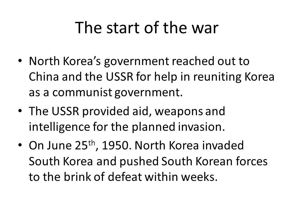 North Korea's invasion