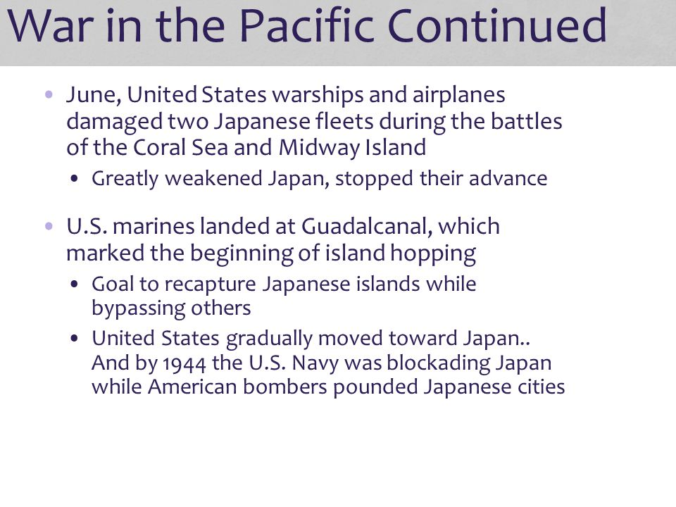 An Ongoing Controversy The Atomic Bomb: Brought quick end to war Brought terrifying destruction People question if it should have been used Why did Truman use the bomb.