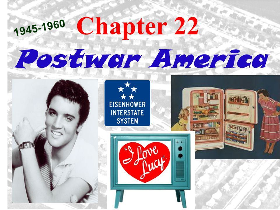 2.Women in the 50s a. Main role. Homemaker (remember I LOVE LUCY episode – Quiz Show) b.