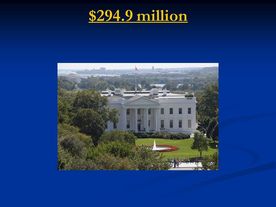 $294.9 million