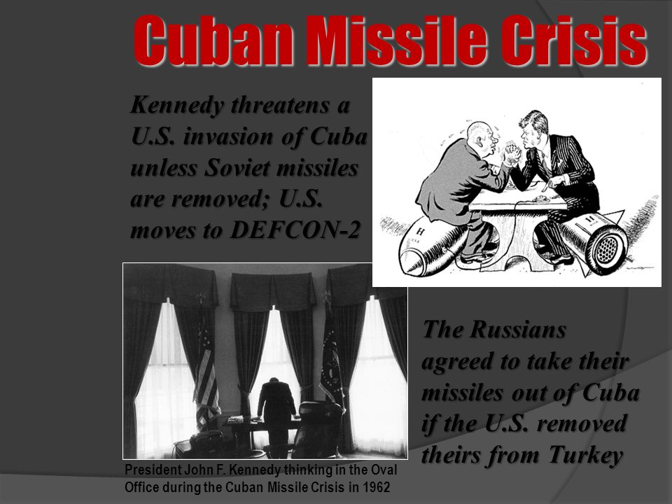 an introduction to the history of the cuban missile crisis Welcome to mr baskett's history blog the cuban missile crisis john clare provides a good introduction to the crisis on his site.
