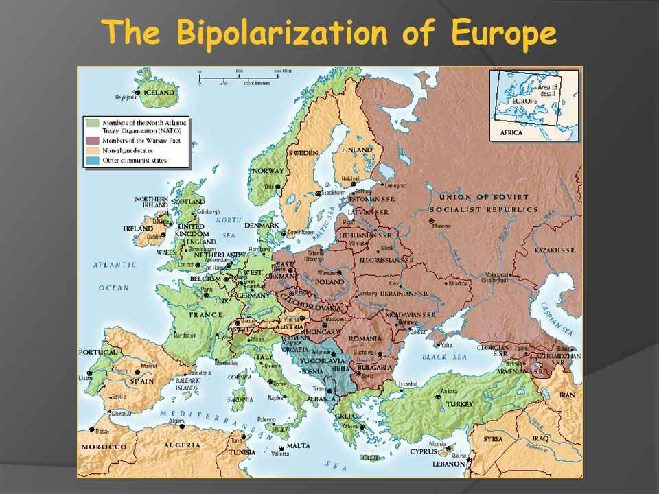 The Bipolarization of Europe