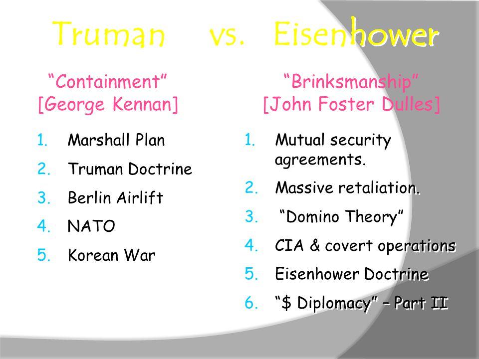 Truman vs.