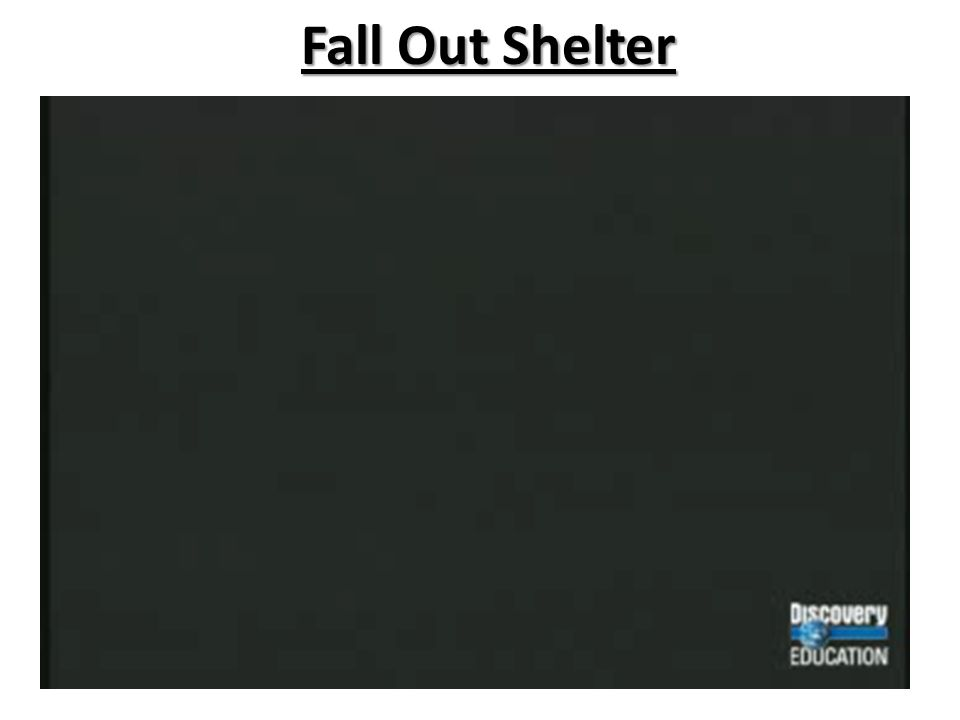 Fall Out Shelter