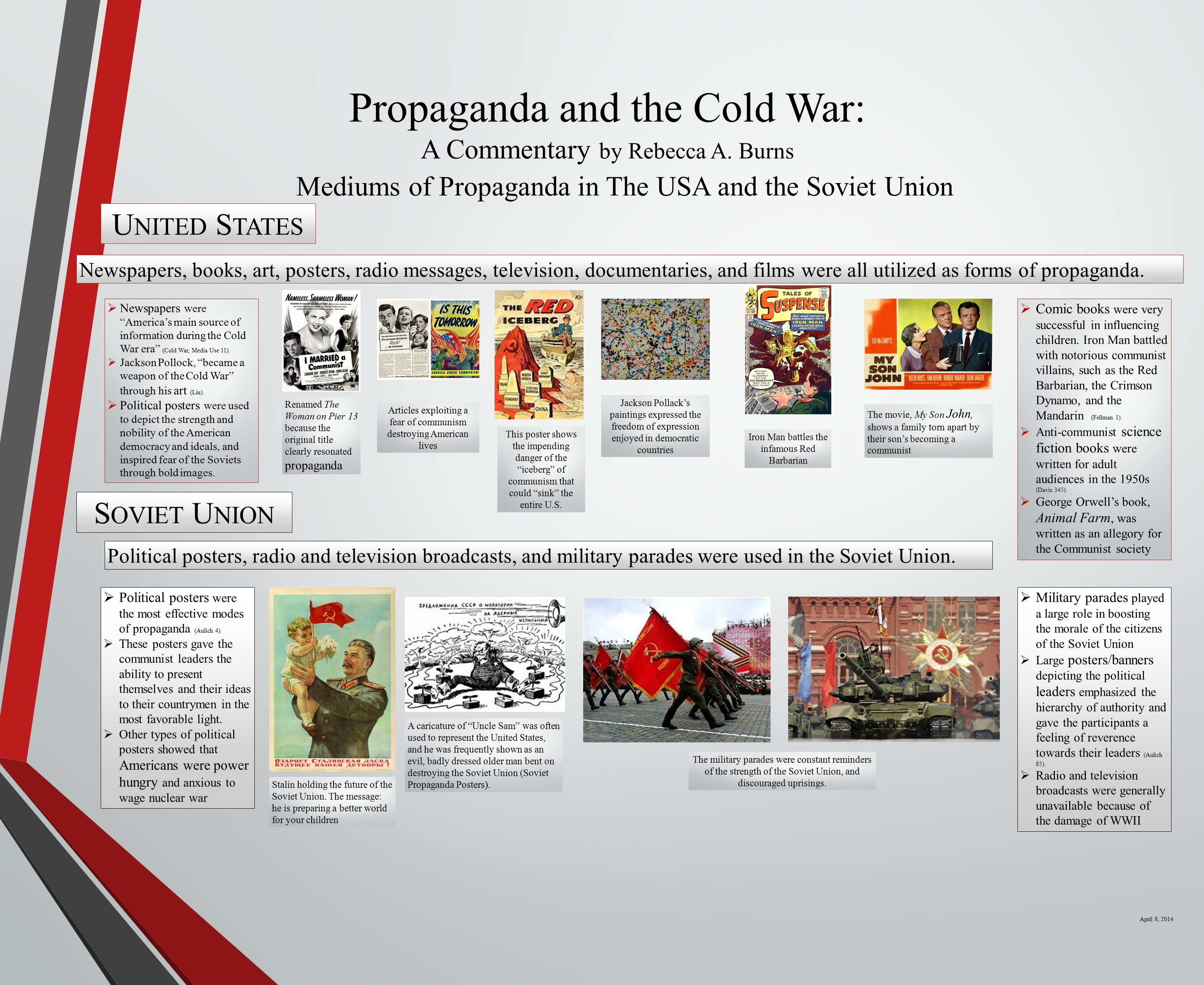 Propaganda and the Cold War: A Commentary by Rebecca A.