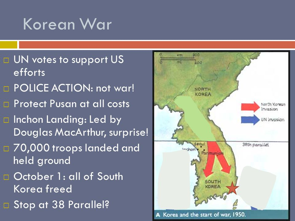 Korean War UUN votes to support US efforts PPOLICE ACTION: not war.