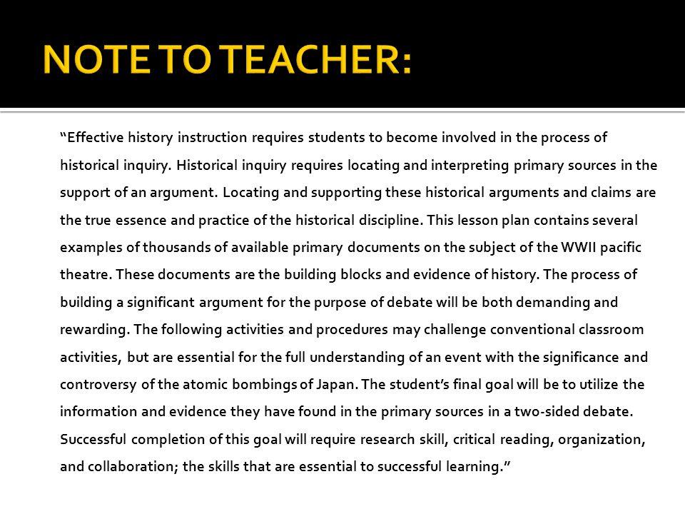 I.Introduction to Classroom Debate II. Presentation of key terms / vocabulary III.
