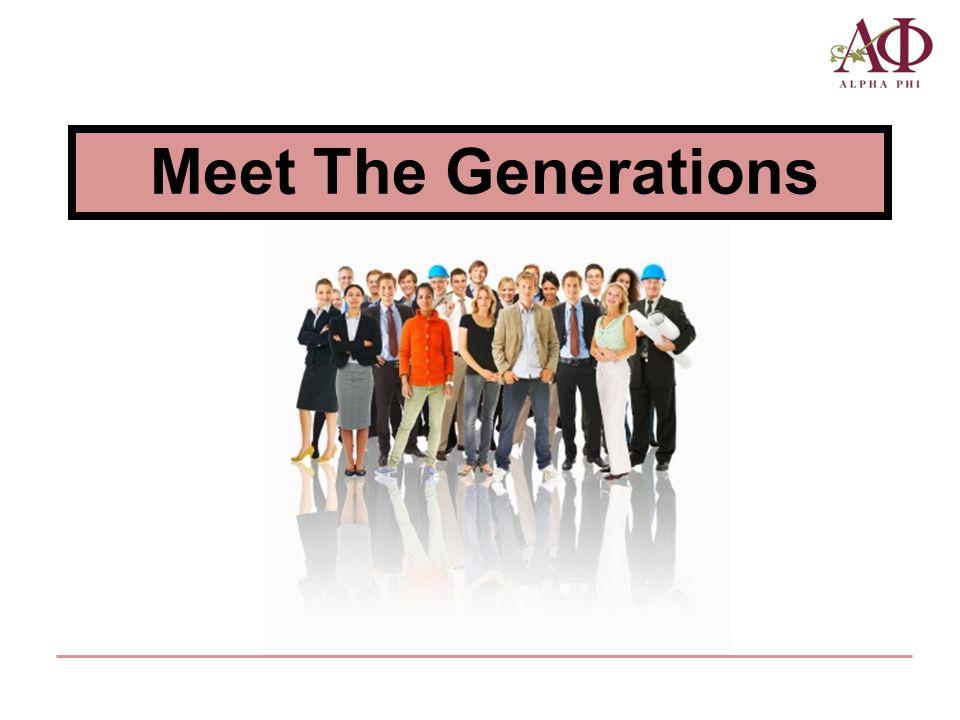 Meet The Generations