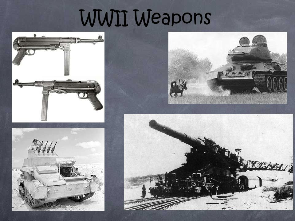 WWII Weapons