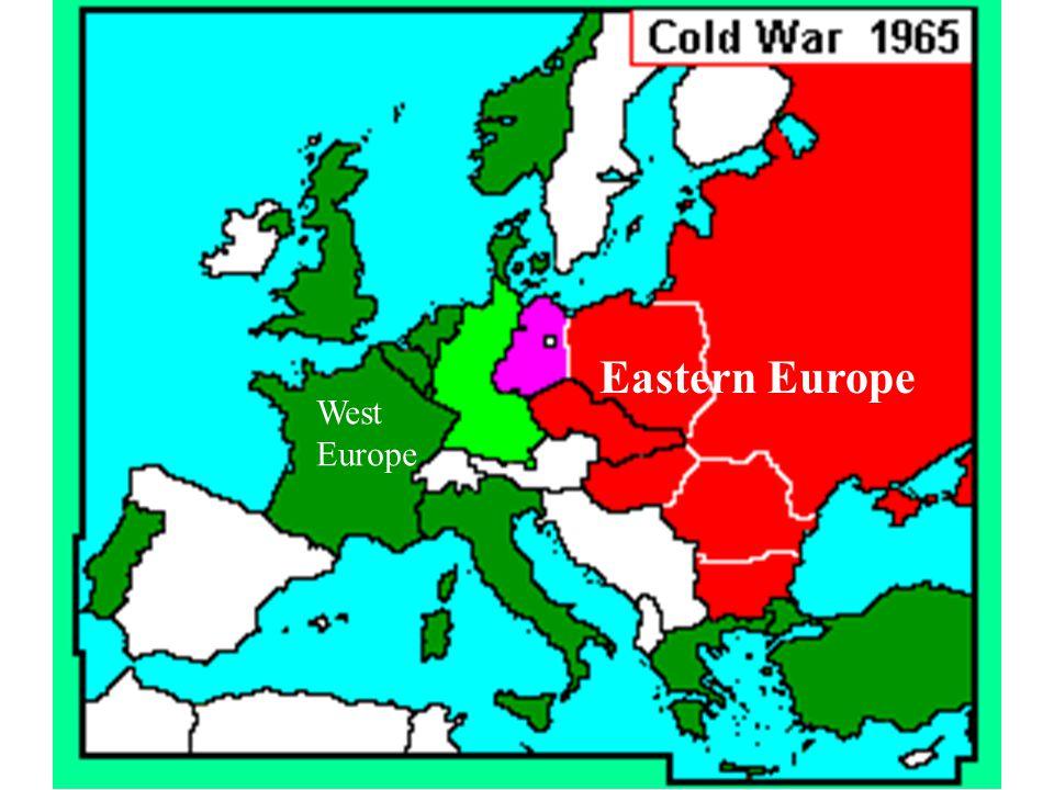 Eastern Europe West Europe