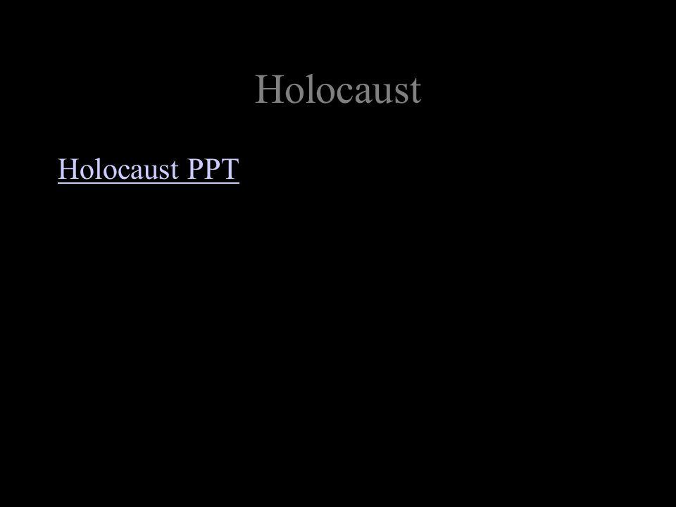 Holocaust Holocaust PPT