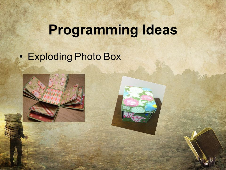 Programming Ideas Exploding Photo Box