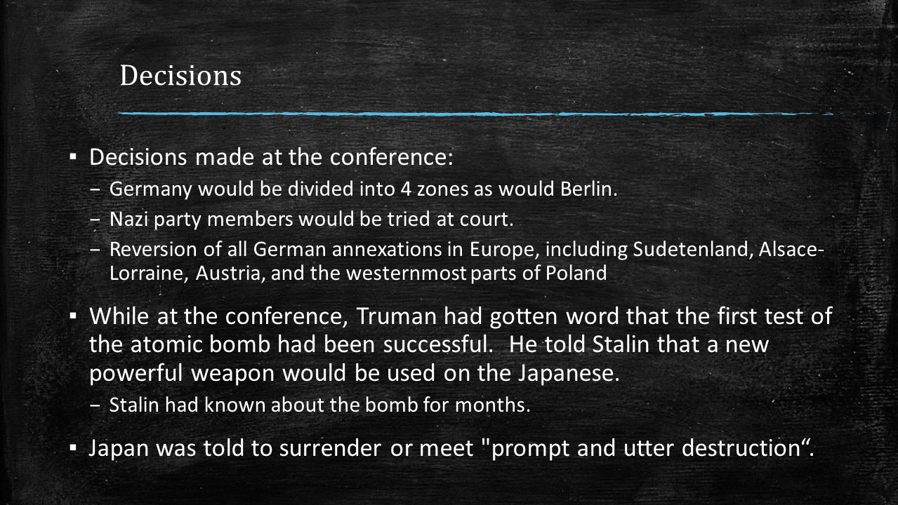 Japan refuses to surrender ▪ In August, 1945 the Japanese Imperial government refused surrender demands.