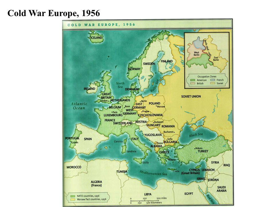 Cold War Europe, 1956