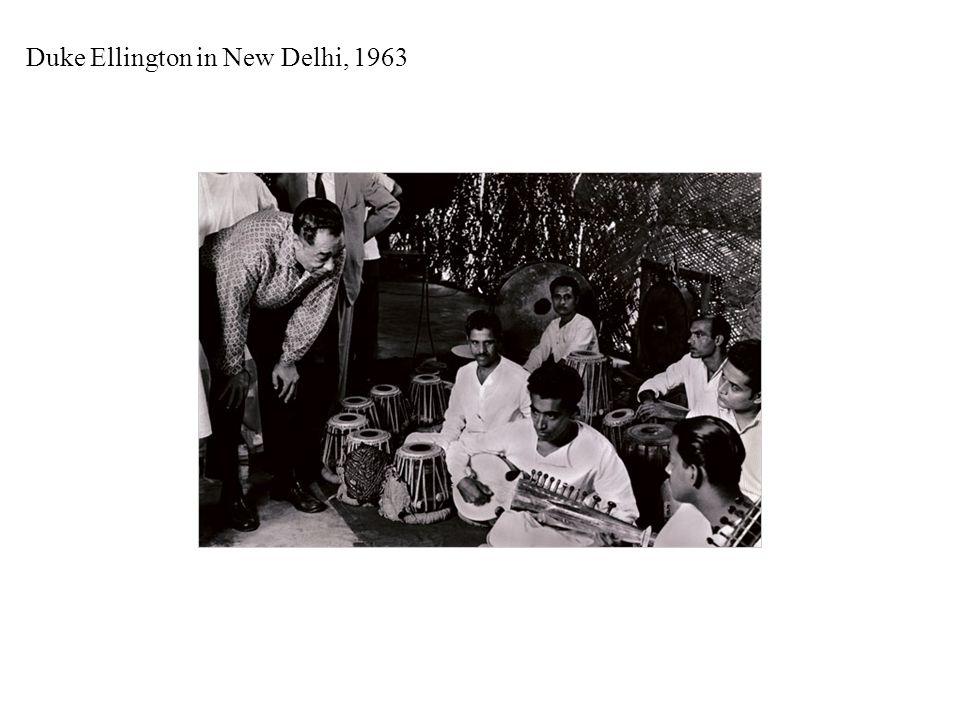 Duke Ellington in New Delhi, 1963
