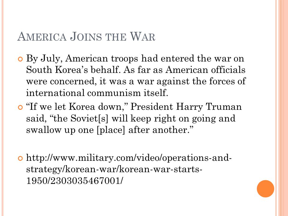 W ARTIME P ROPAGANDA US - http://www.military.com/video/operations- and-strategy/korean-war/the-crime-of-korea- 1950/2849440130001/http://www.military.com/video/operations- and-strategy/korean-war/the-crime-of-korea- 1950/2849440130001/ Chinese - http://www.military.com/video/operations-and- strategy/korean-war/chinese-propaganda-piece- 1952/2670951746001/ http://www.military.com/video/operations-and- strategy/korean-war/chinese-propaganda-piece- 1952/2670951746001/