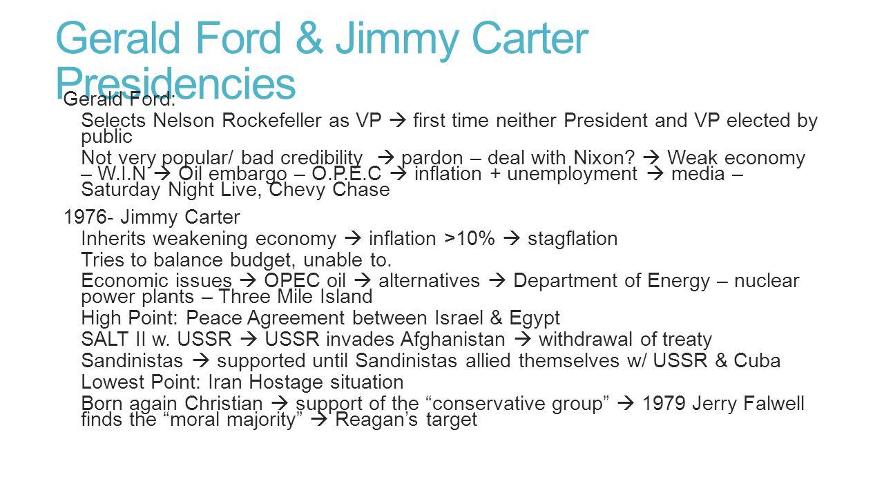 Reagan, G.H.W.Bush, Clinton & G.W.